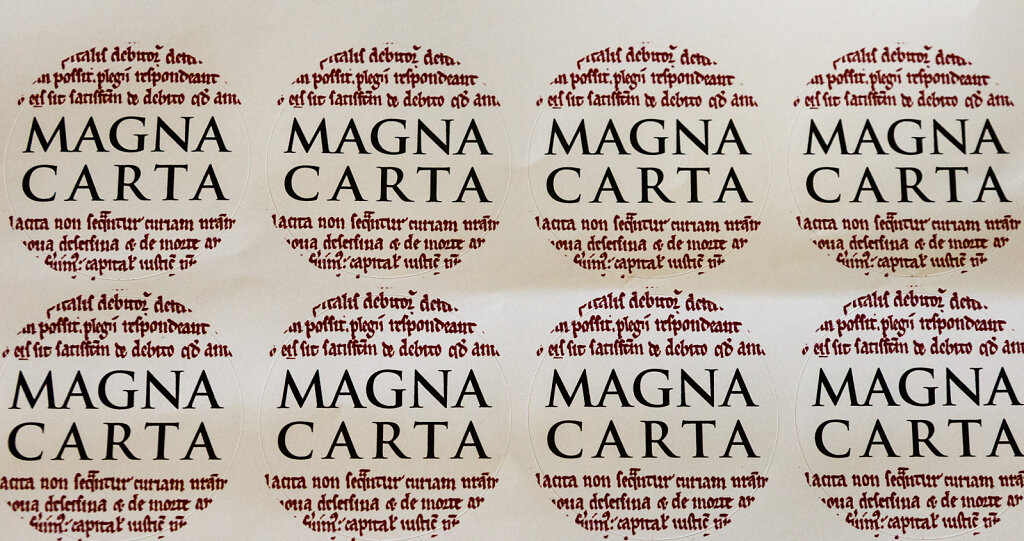 Magna Carta Exhibition at the Society of Antiquaries, London